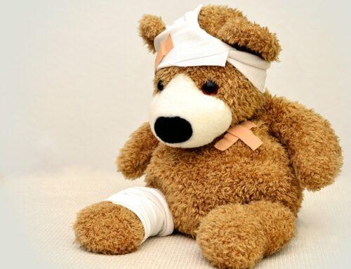 Kommer dit barn hjem med sår/rifter?